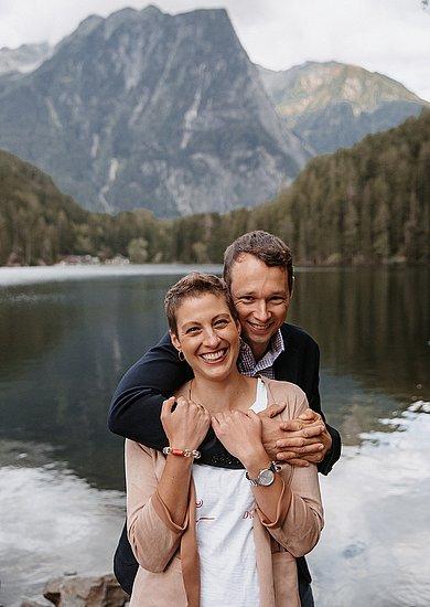 In dieser Zeit an  meiner Seite: meine tolle Familie und mein Mann Thomas. –